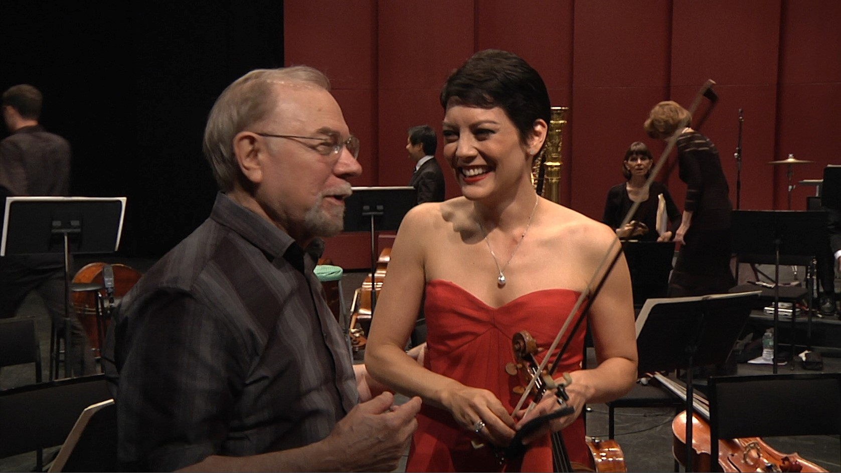 ANNE AKIKO MEYERS PREMIERES SAMUEL JONES� NEW VIOLIN CONCERTO