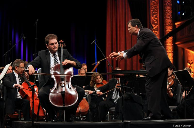 JONES� CELLO CONCERTO BEING PLAYED NATIONWIDE BY ALL-STAR ORCHESTRA
